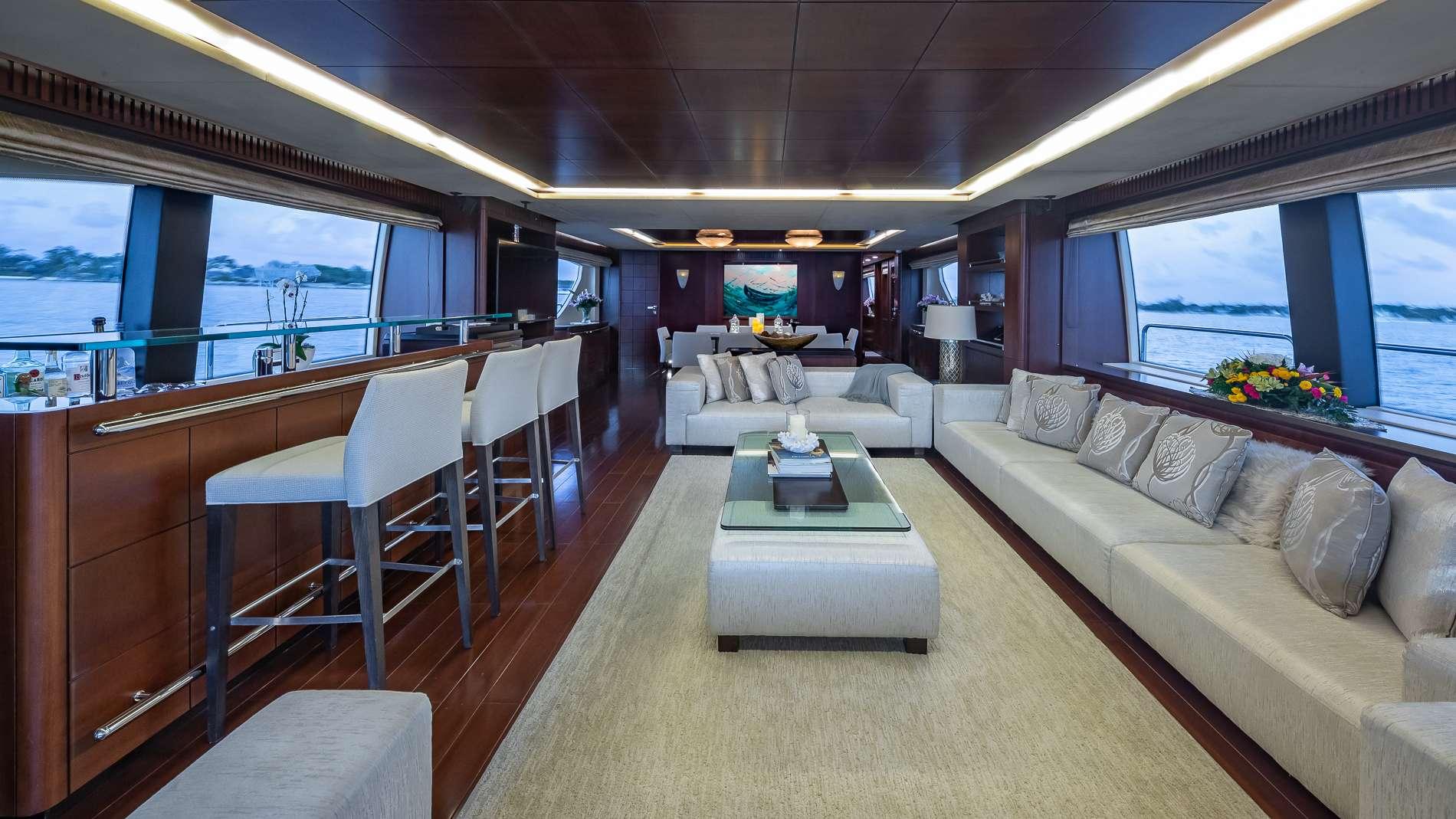 Motor Yacht 'TAIL LIGHTS' Salon Forward, 12 PAX, 6 Crew, 116.00 Ft, 35.00 Meters, Built 2011, Azimut, Refit Year 2016