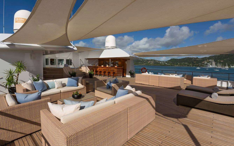 Motor Yacht 'LAUREN L' Sundeck, 40 PAX, 295.00 Ft, 90.00 Meters, Built 2002, Cassens Werft, Refit Year 2008/2015