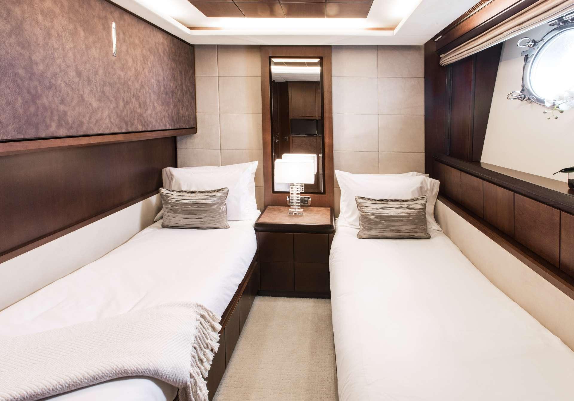 Motor Yacht 'TAIL LIGHTS' Twin Guest Suite, 12 PAX, 6 Crew, 116.00 Ft, 35.00 Meters, Built 2011, Azimut, Refit Year 2016