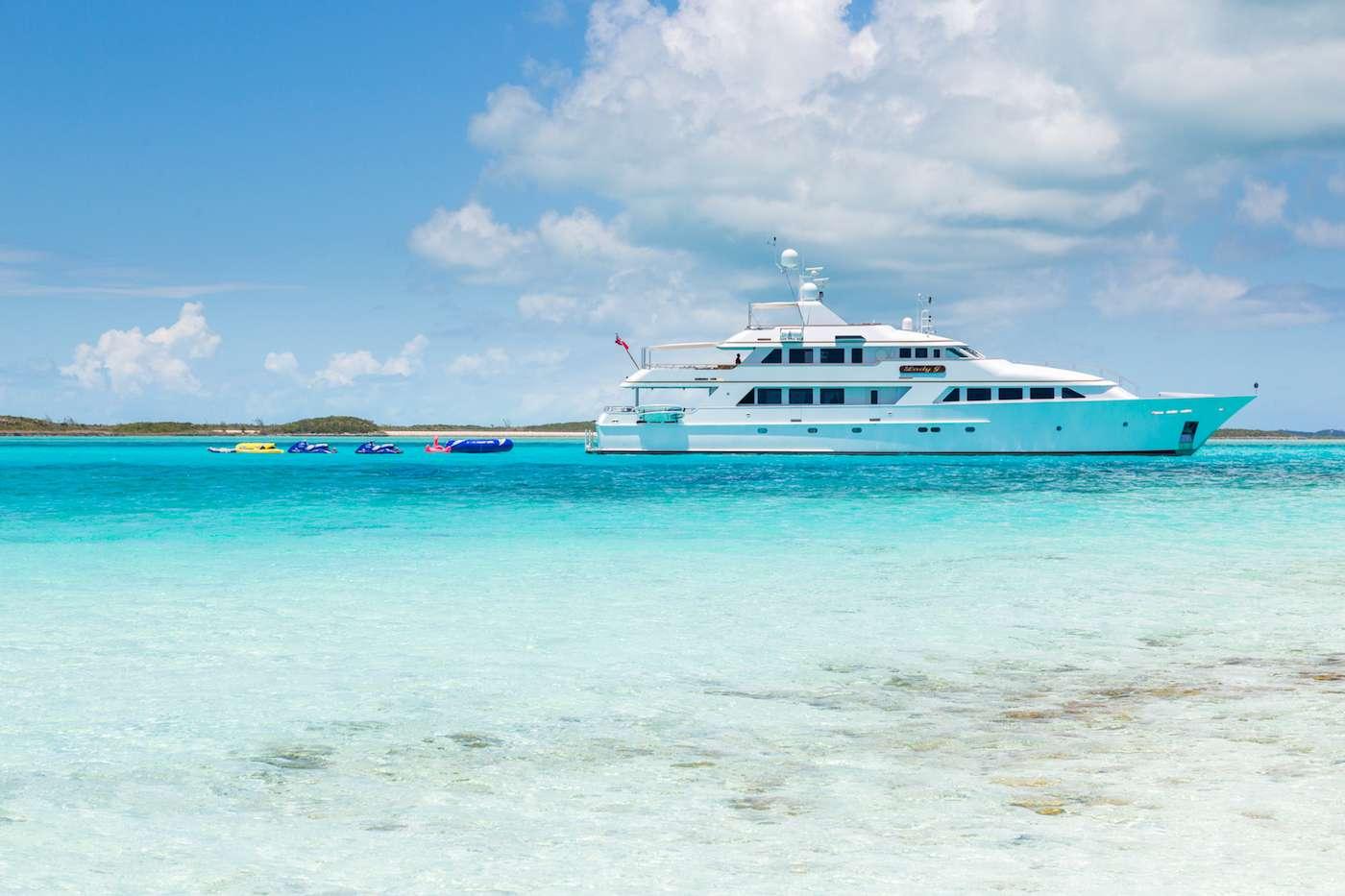 Motor Yacht 'LADY J' Yacht Profile, 12 PAX, 9 Crew, 142.00 Ft, 43.00 Meters, Built 1997, Palmer Johnson, Refit Year 2017