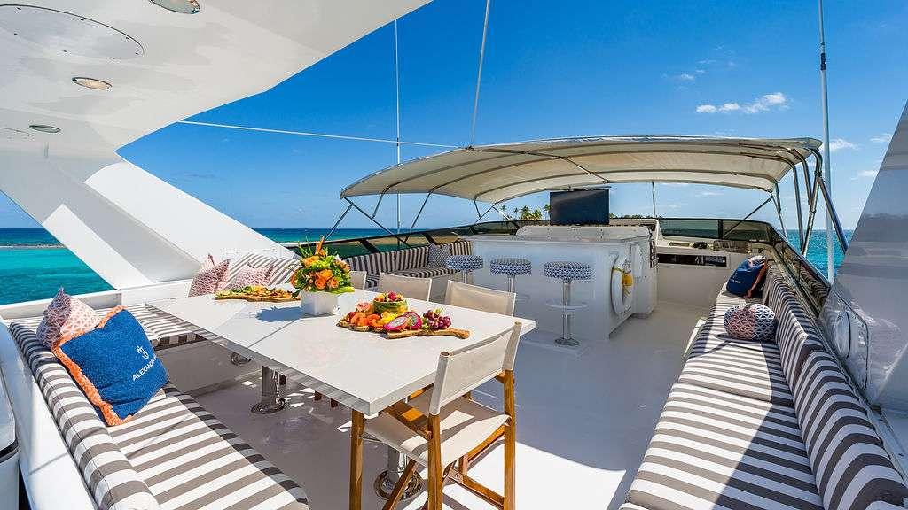 Motor Yacht 'ALEXANDRA JANE' Flybridge, 10 PAX, 4 Crew, 110.00 Ft, 33.00 Meters, Built 1995, Broward, Refit Year 2019