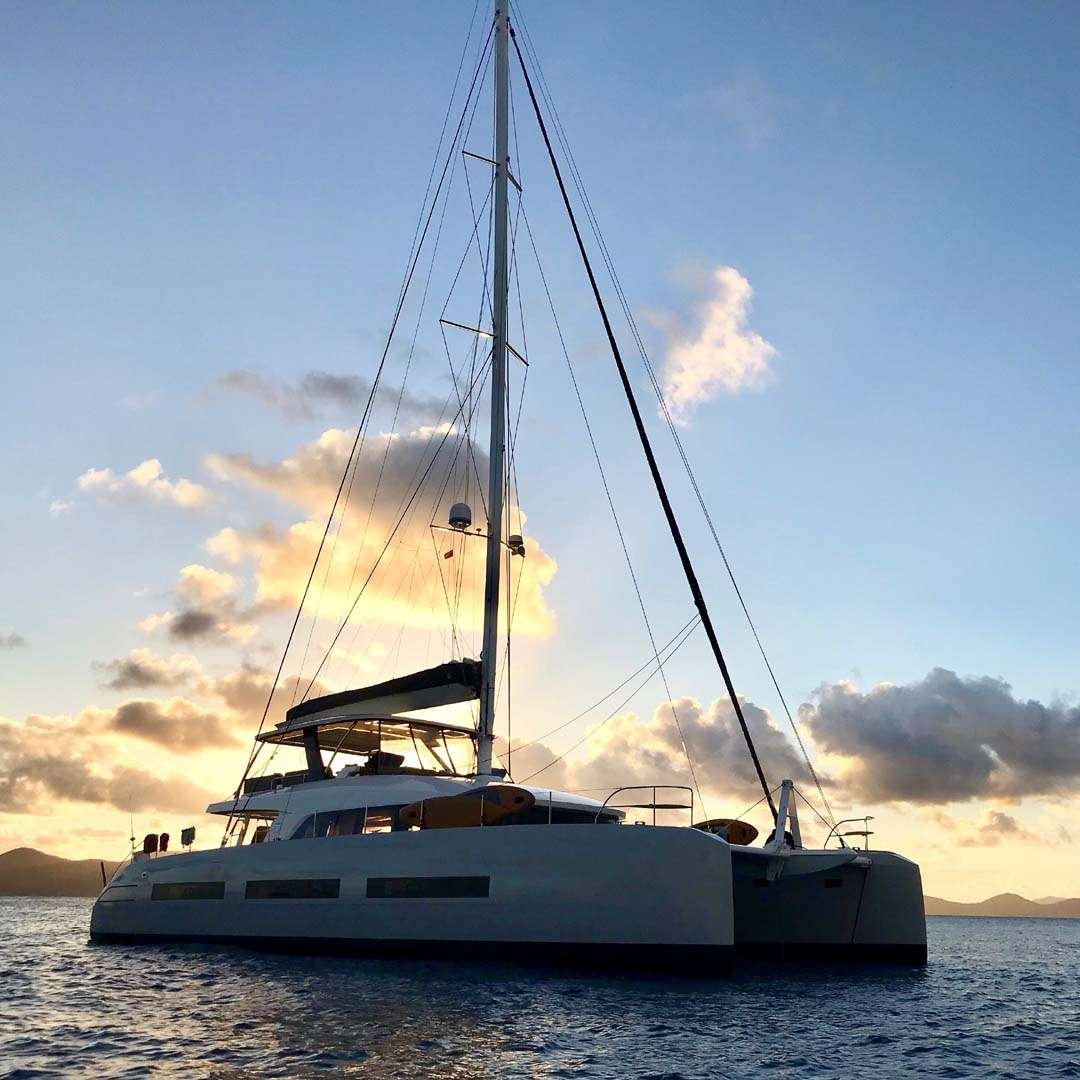 Catamaran Yacht 'TELLSTAR' Beamy aft with Beach deck, 8 PAX, 4 Crew, 77.00 Ft, 23.00 Meters, Built 2019, Lagoon