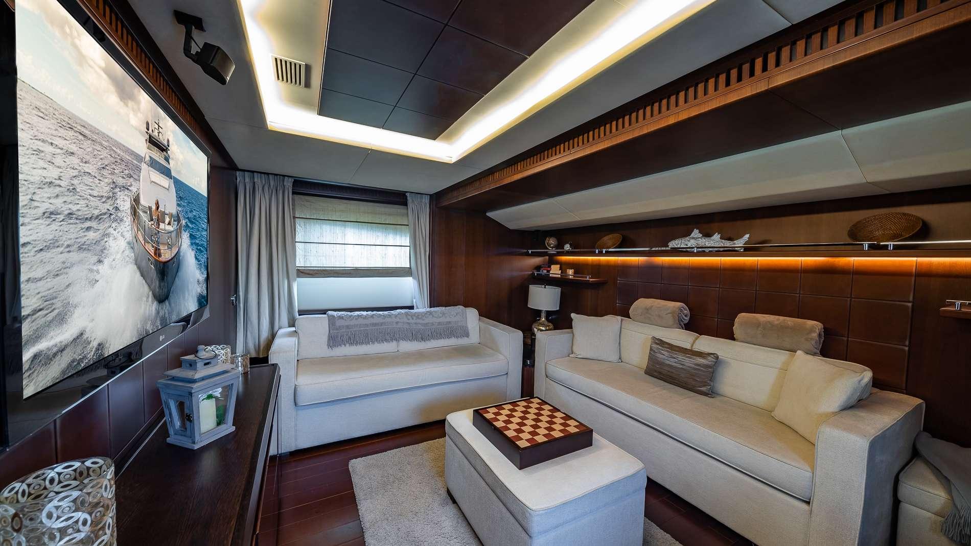 Motor Yacht 'TAIL LIGHTS' Media Room, 12 PAX, 6 Crew, 116.00 Ft, 35.00 Meters, Built 2011, Azimut, Refit Year 2016