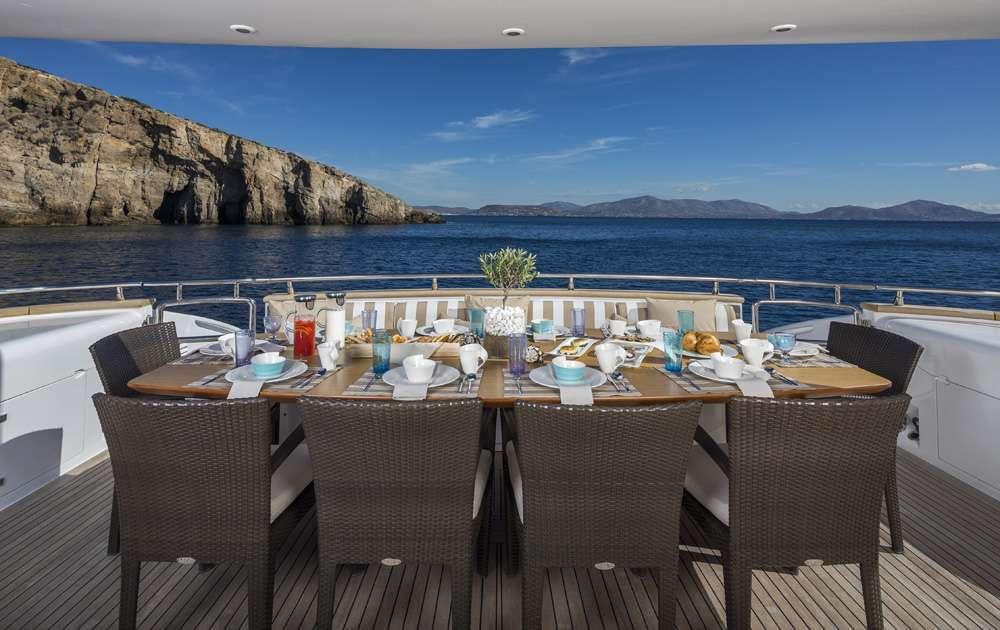 Motor Yacht 'PARIS A' Main deck aft, 12 PAX, 6 Crew, 115.00 Ft, 35.06 Meters, Built 2009, Majora, Refit Year 2013