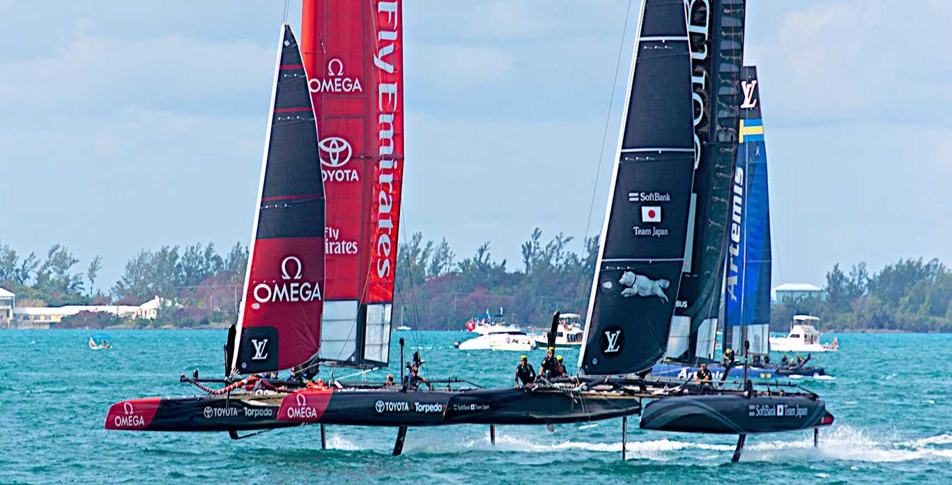 2017  America's Cup Charter in Bermuda - Get Your Front Row Seat
