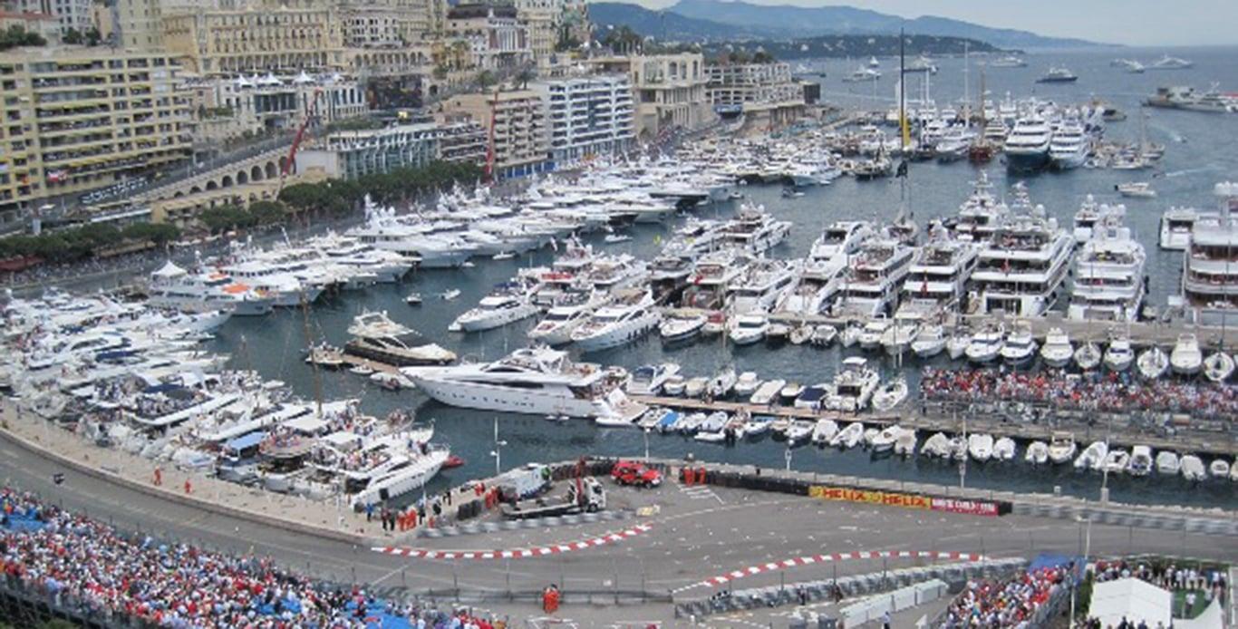 Monaco Grand Prix Yacht Charters