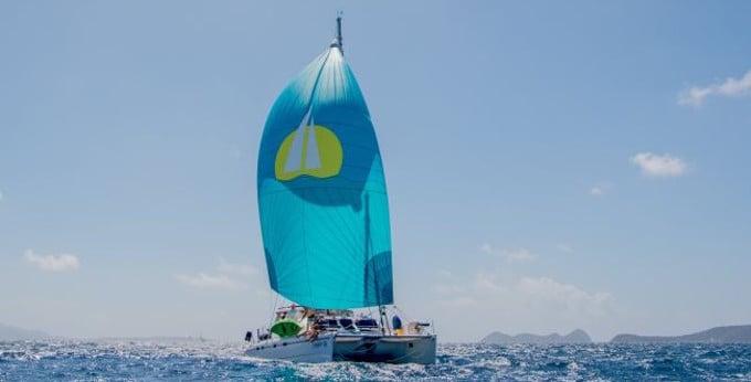 St. Thomas Yacht Charter Discount - Catamaran Steppin' Up - Yacht Charters