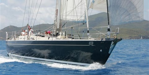 Christmas Yacht Charter  on Pacific Wave in the BVI