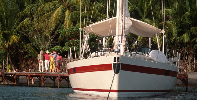sailboat charter in St. Thomas