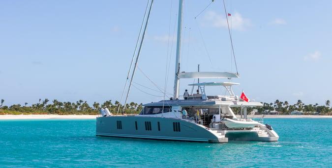 catamaran charter in the Bahamas