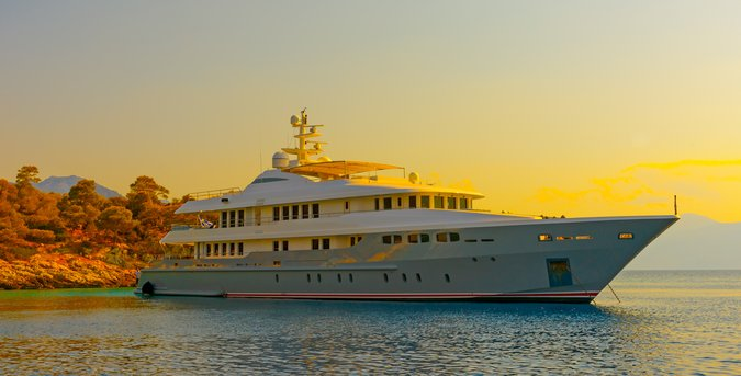 Greek megayacht charter