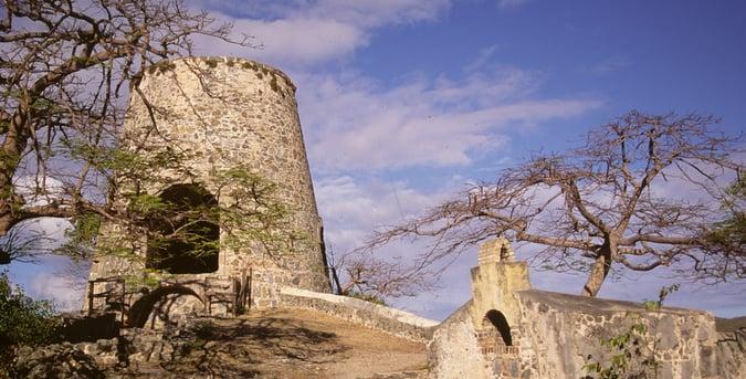 Sugar mill ruins St. John