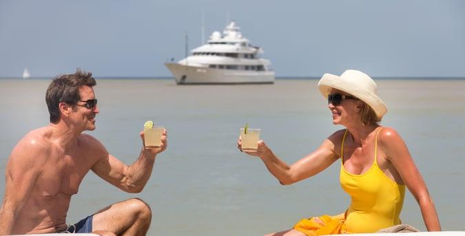 USVI honeymoon yacht charter