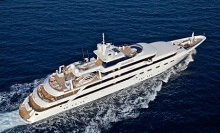 Large Capacity Mega Yacht Charters