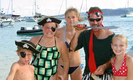 Family Incentive Groups on Yachts