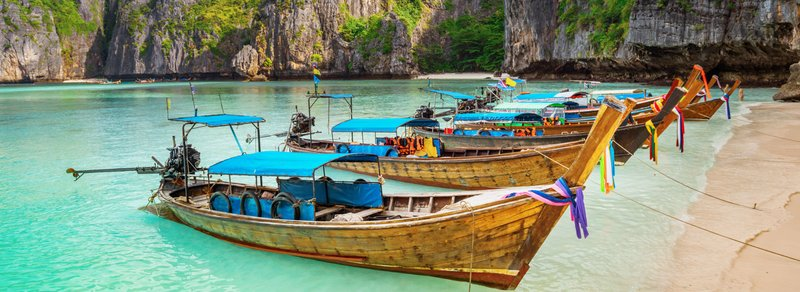 local boats Thailand