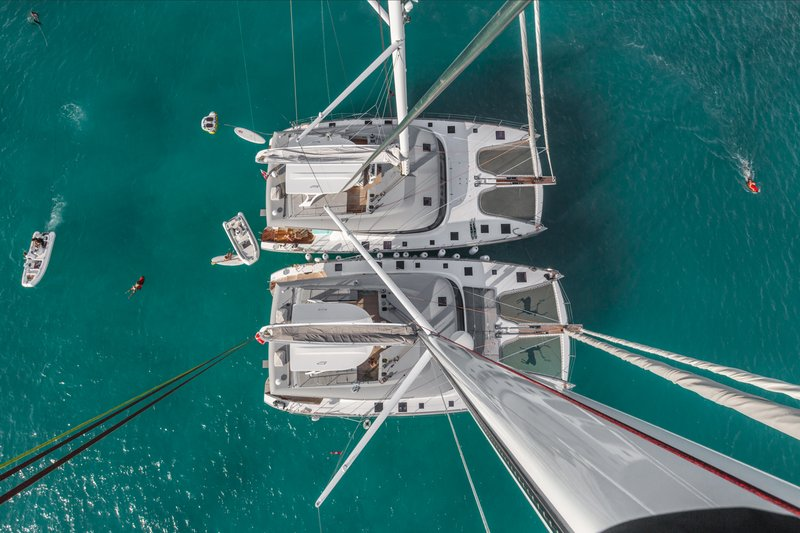 Catamaran Charter for Groups Stateroom