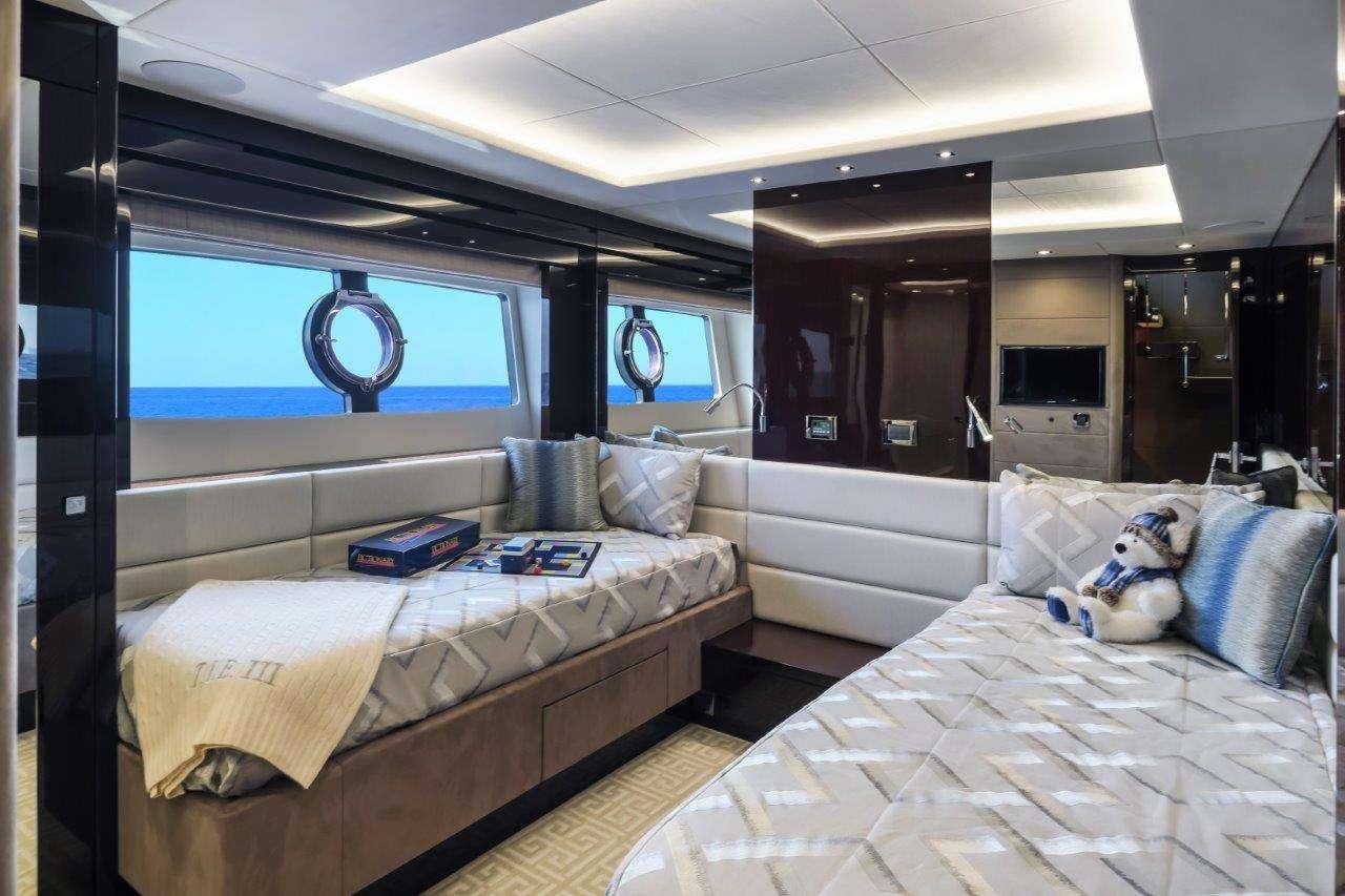 Motor Yacht 'TAKE IT EASY', 8 PAX, 85.00 Ft, 26.00 Meters, Built 2019, Sunseeker