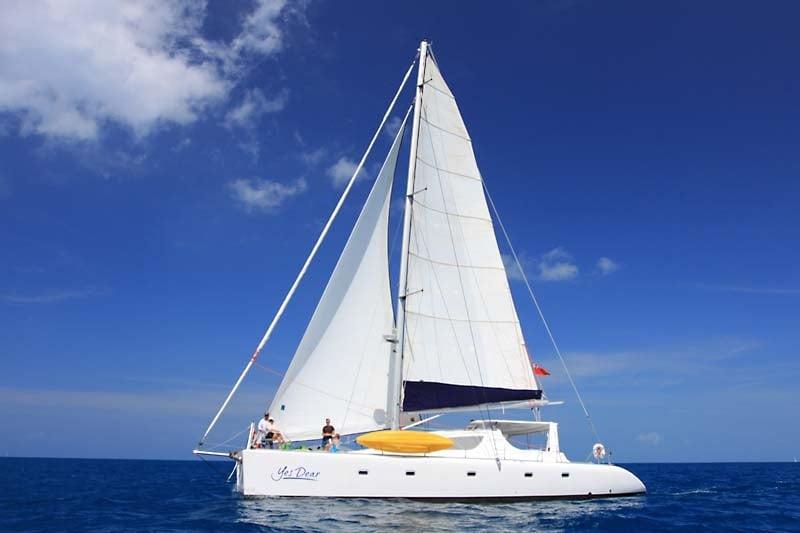 Catamaran Yacht 'YES DEAR', 10 PAX, 2 Crew, 58.00 Ft, 17.00 Meters, Built 2007, VOYAGE yacht, Refit Year 2012