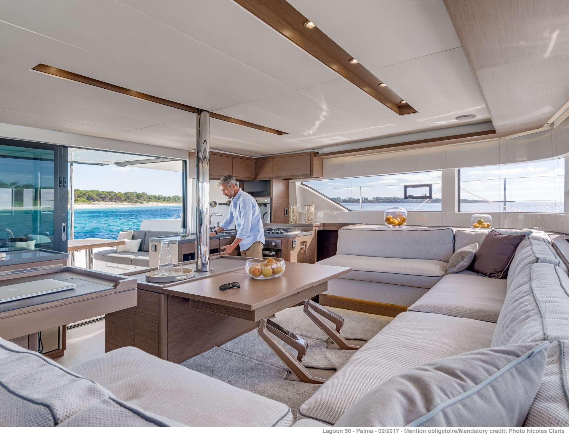 Catamaran Yacht 'NAUTI CAT', 8 PAX, 2 Crew, 50.00 Ft, 15.00 Meters, Built 2020, Lagoon