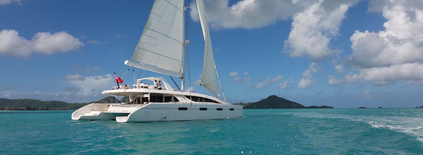 Sailing Catamaran Charters in BVI