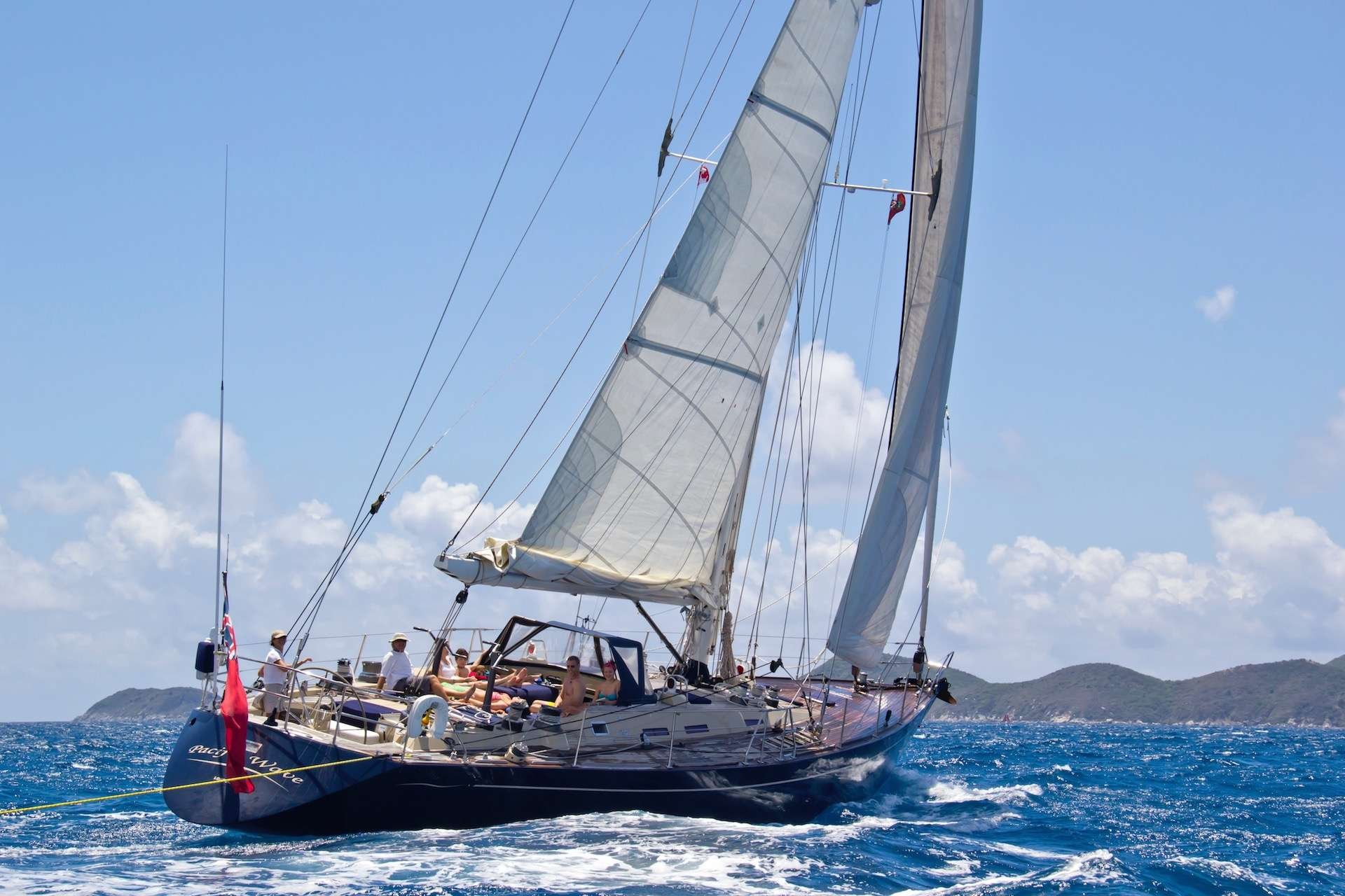 Sailing Yacht 'PACIFIC WAVE', 6 PAX, 2 Crew, 72.00 Ft, 21.00 Meters, Built 1986, Giorgetti & Magrini/Yacht Officine Pesaro SRL, Refit Year Full Refit 2015
