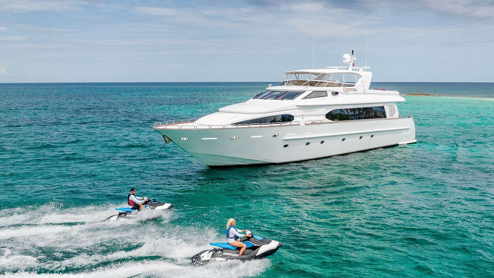 Motor Yacht 'QUINTESSA', 8 PAX, 4 Crew, 94.00 Ft, 28.00 Meters, Built 2000, Destiny, Refit Year 2019