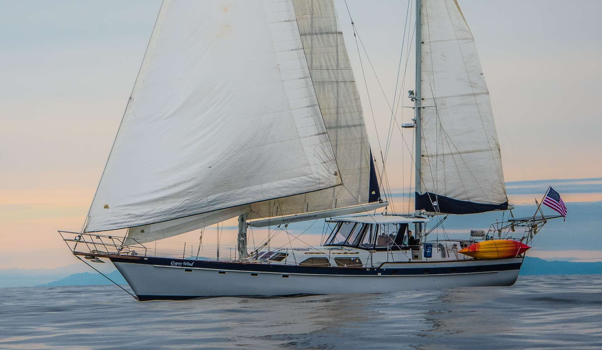 Sailing Yacht 'GYPSY WIND', 6 PAX, 2 Crew, 72.00 Ft, 21.00 Meters, Built 1990, Irwin, Refit Year 2018