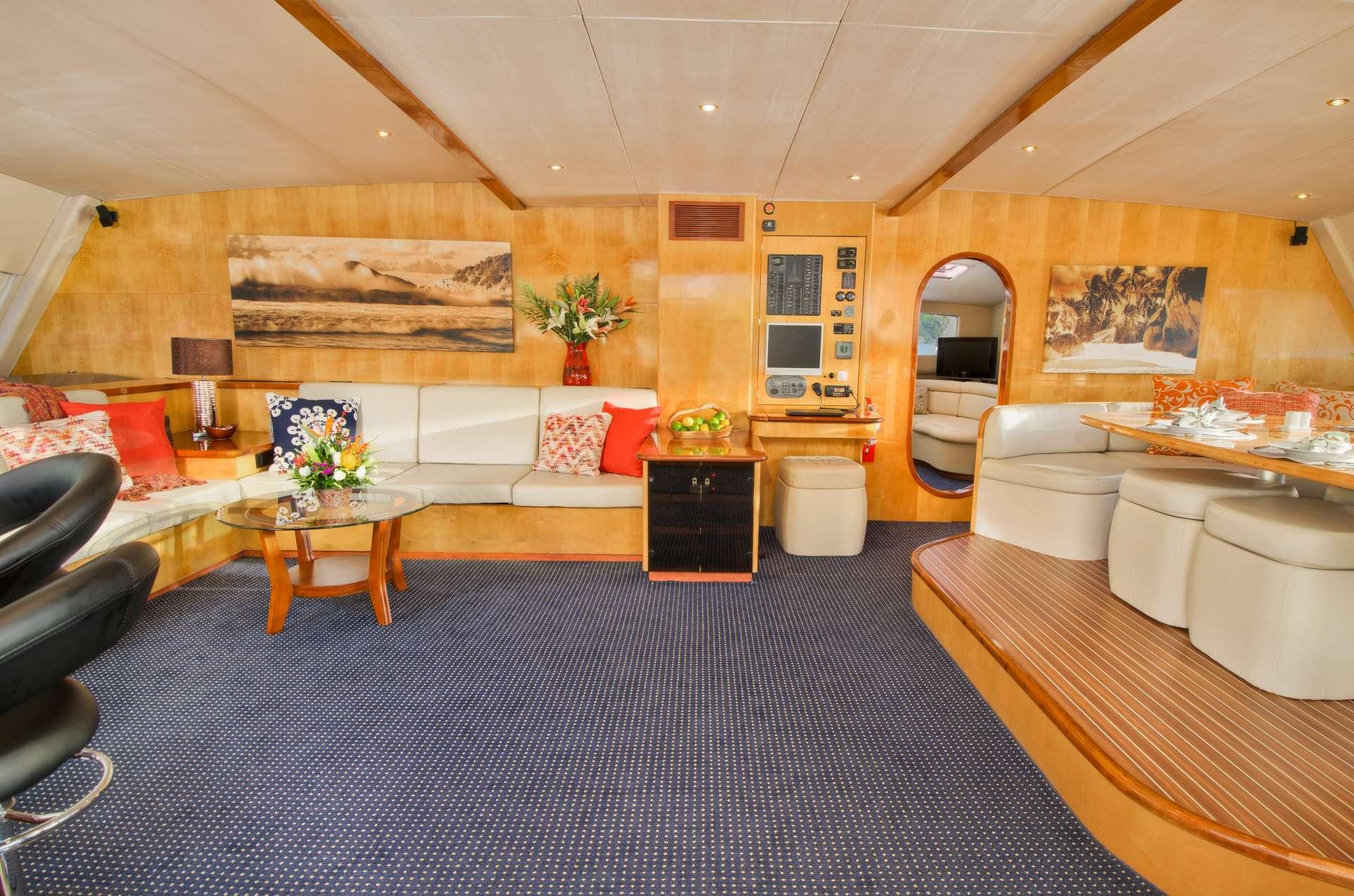 Catamaran Yacht 'ZINGARA', 10 PAX, 4 Crew, 76.00 Ft, 23.00 Meters, Built 2006, Silhouette, Refit Year 2017