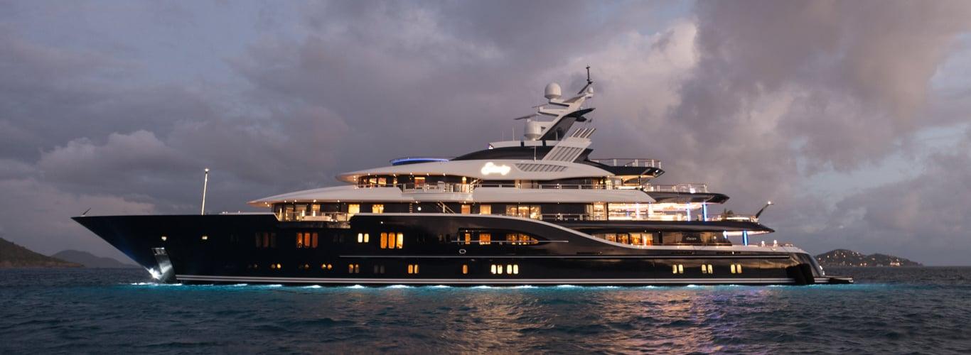 Superyacht Charter on Solange