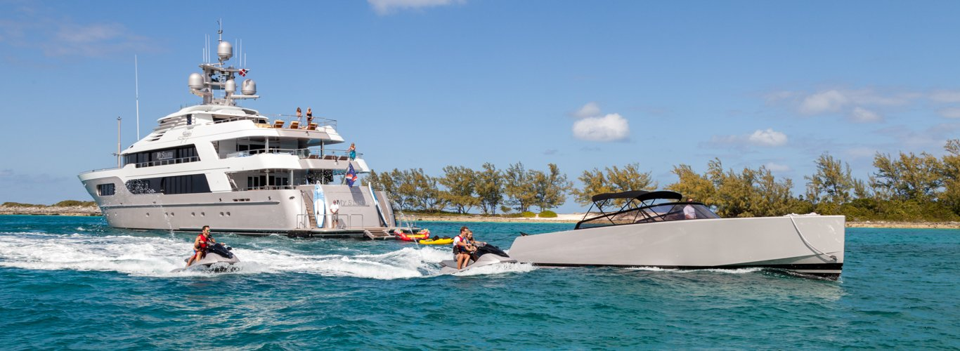 Superyacht charter in the BVI