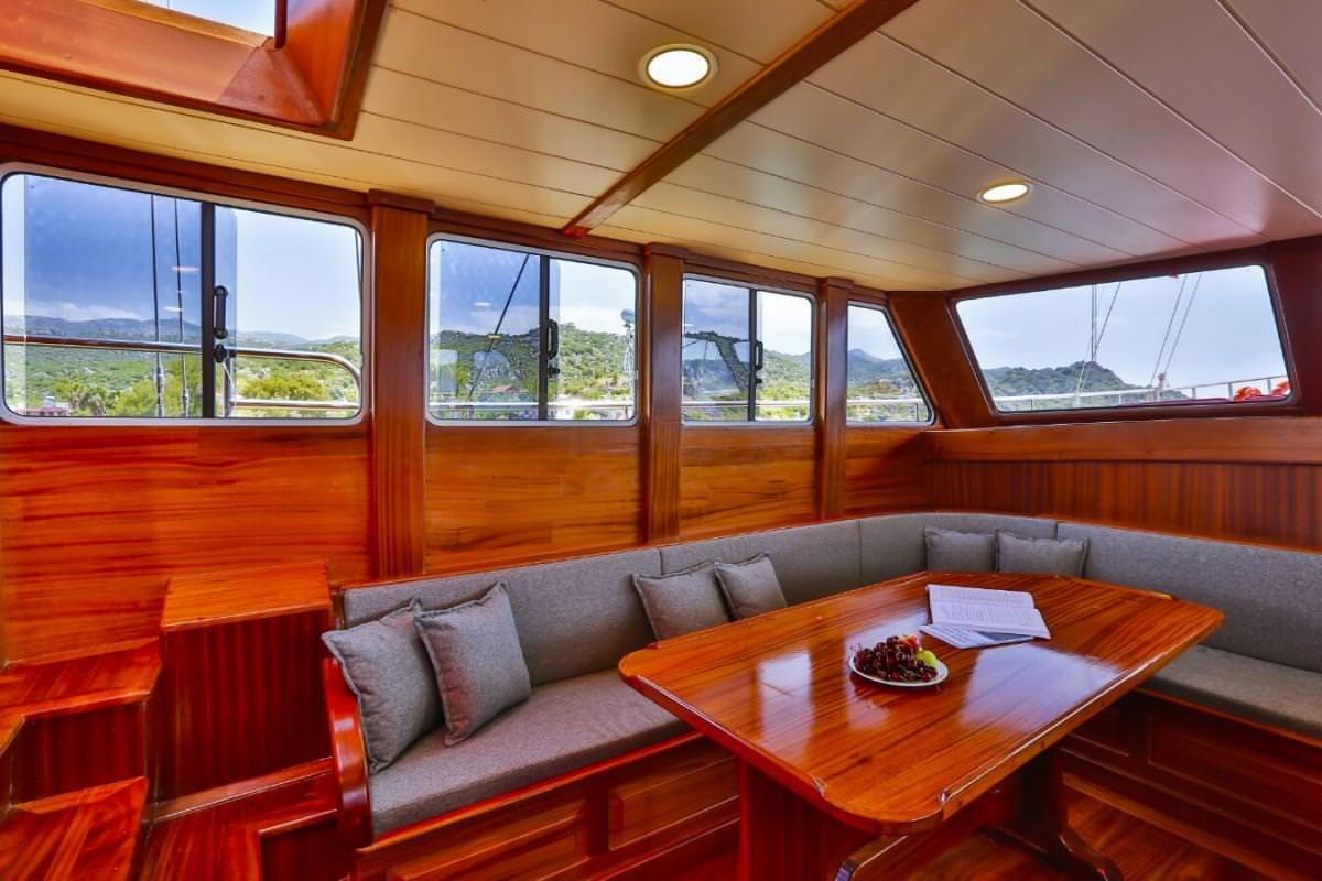 Motor Sailing Yacht 'VICTORIA', 12 PAX, 4 Crew, 82.00 Ft, 25.00 Meters, Built 2014, Fethiye Shipyard