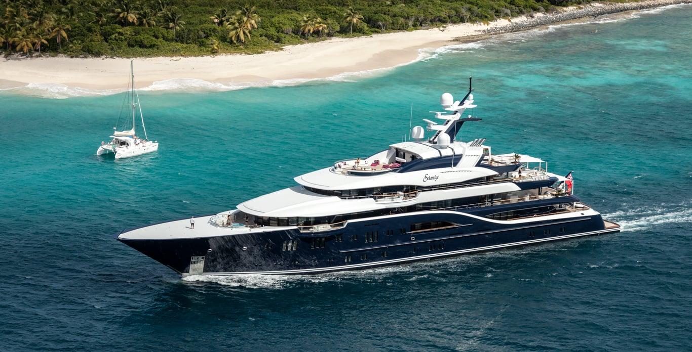 luxury superyacht charter Virgin Islands
