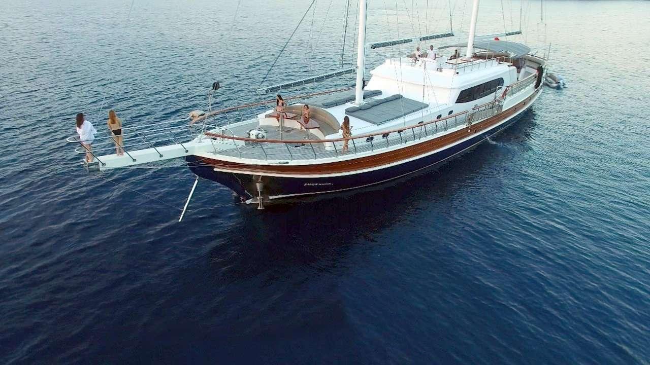 Motor Sailing Yacht 'SADIYE HANIM', 12 PAX, 111.00 Ft, 34.00 Meters, Built 2018, Bozburun, Refit Year NEW !!!!!