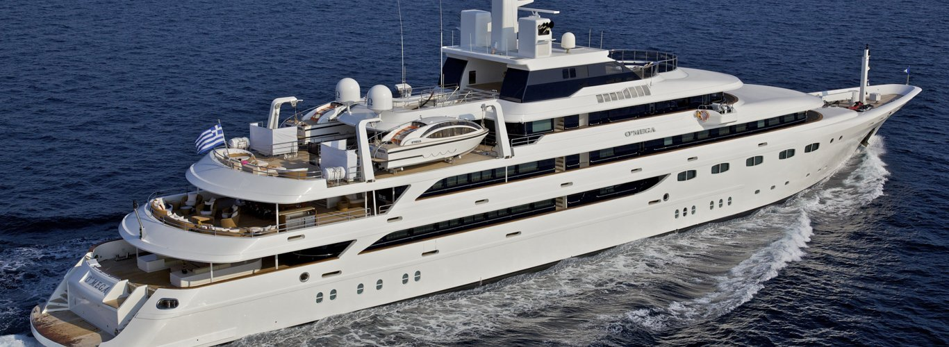 O'Mega Yacht Charter for Large Groups
