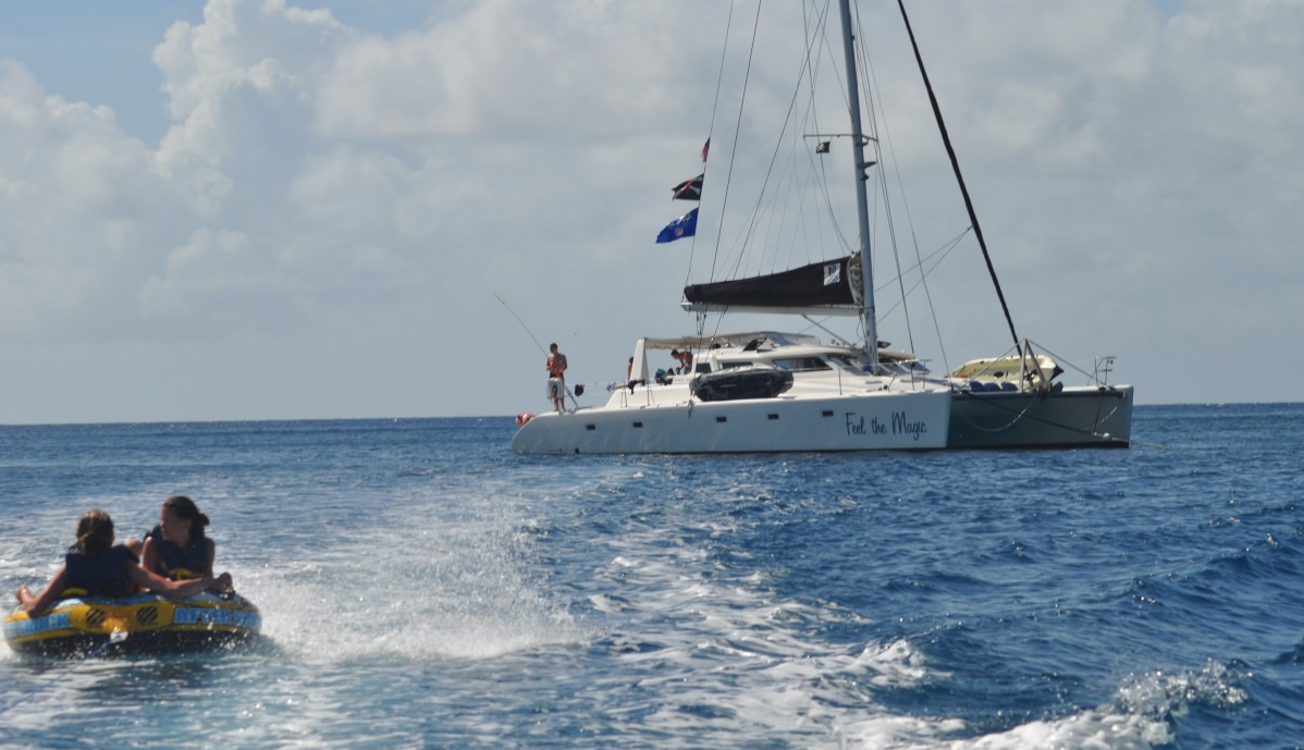 Crewed Catamaran Charters - Feel the Magic in St. Thomas