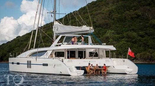 Tranquility -  BVI Catamaran Charter for up to 12 Guests