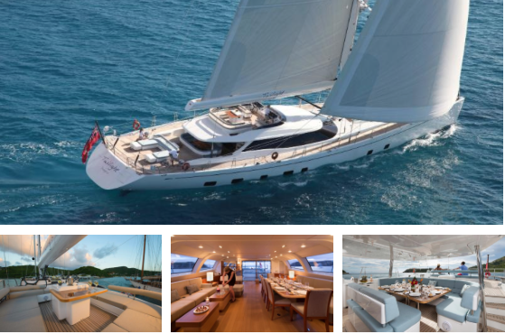 Twilight - 125' Oyster Yacht Charter in the Caribbean This Winter