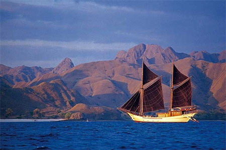 Indonesia Yacht Charters - Silolona is the Queen of the Fleet
