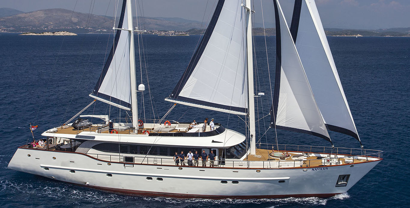 Navilux – 122' – 12 guests Luxury Gulet Charters in Croatia