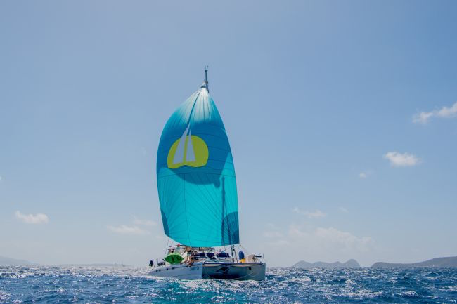St. Thomas Yacht Charter Discount - Catamaran Steppin' Up