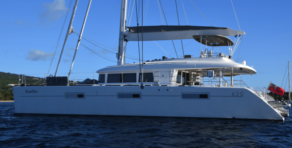 Side photo of the Sandiseas Grenadines Yacht Charter