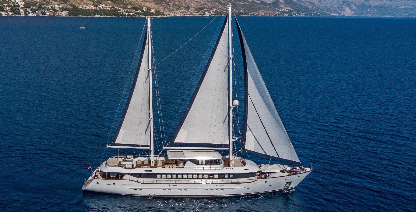 Luxury Yacht Charter Croatia – Aiaxaia, the New Reigning Queen