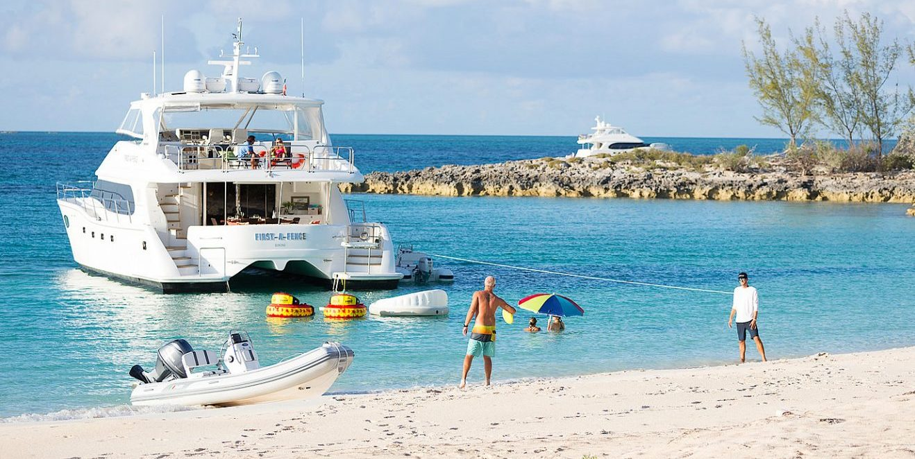 St. Thomas Power Catamaran Charter – First-A-Fence