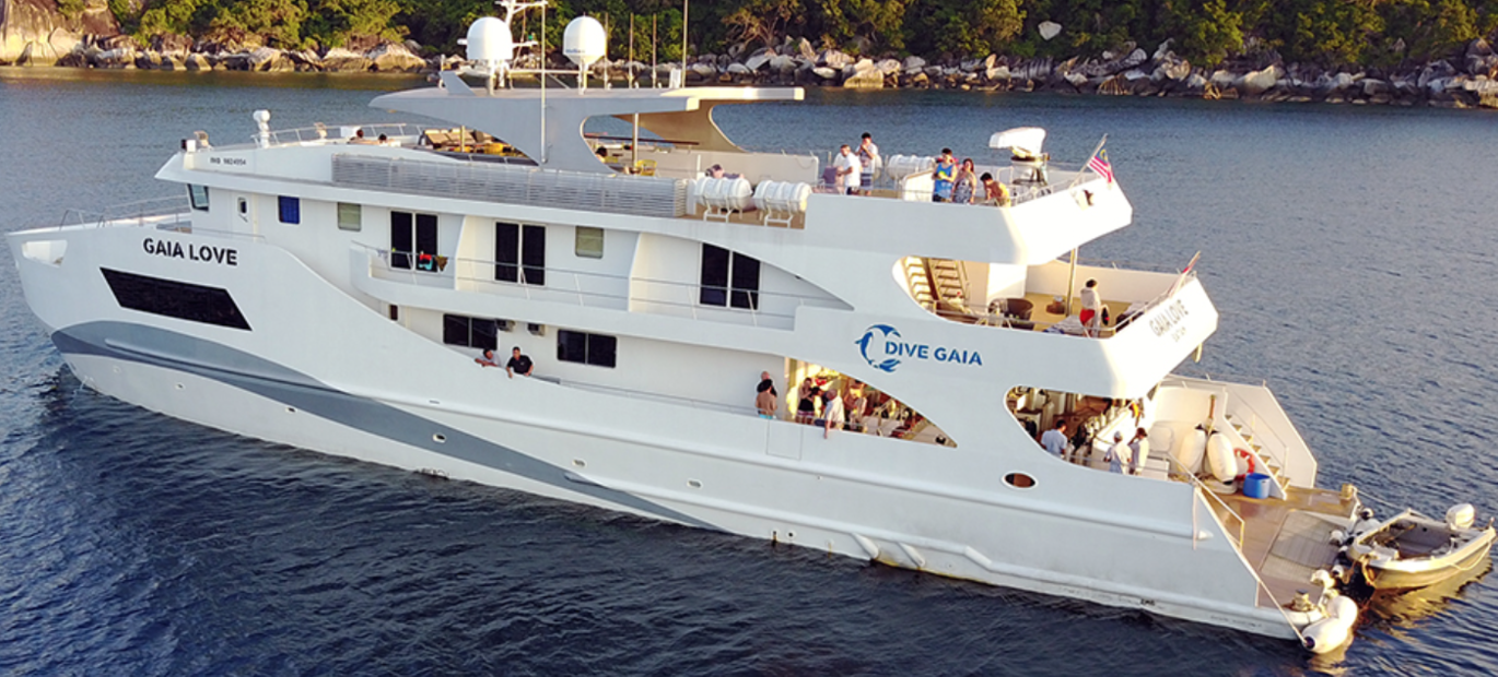 Indonesia Luxury Liveaboards – Gaia Love