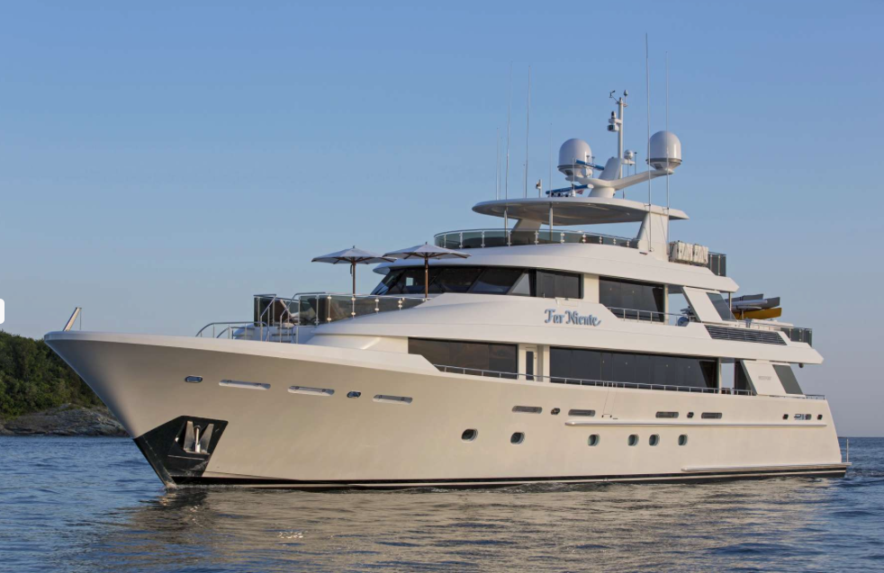 Far Niente - Best New England Yacht Charter for Toys